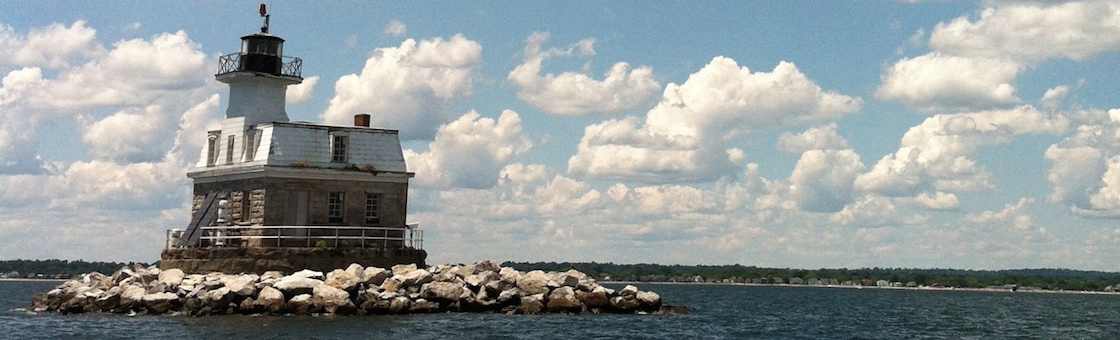 Fairfield Lighthouse on the Water